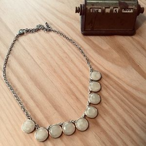 Cream colored necklace from Francesca's